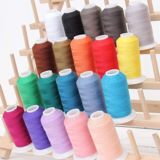Polyester All-Purpose Sewing Thread 20 Spool Set - Vivid Collection - Threadart.com