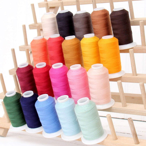 Polyester All-Purpose Sewing Thread 20 Spool Set - Essentials Collection - Threadart.com