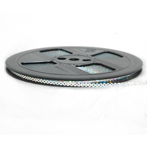 Hot Fix Sequin Reel- Silver 4mm - Threadart.com