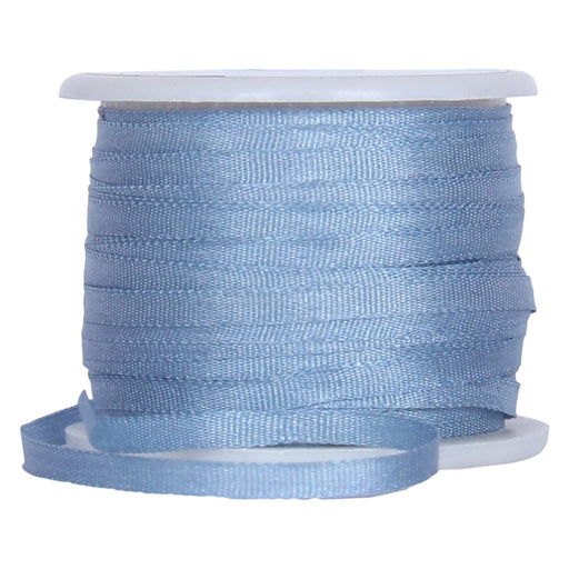 Silk Ribbon 2mm Slate Blue x 10 Meters No. 012 - Threadart.com
