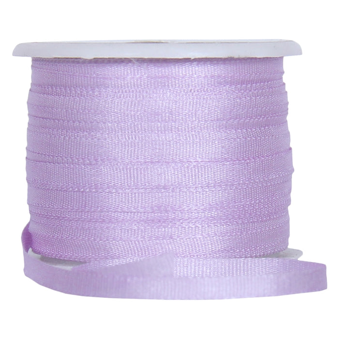 Silk Ribbon 2mm Pale Lavender x 10 Meters No. 024 - Threadart.com