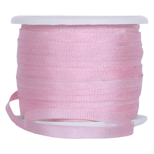 Silk Ribbon 2mm Pink x 10 Meters No. 544 - Threadart.com