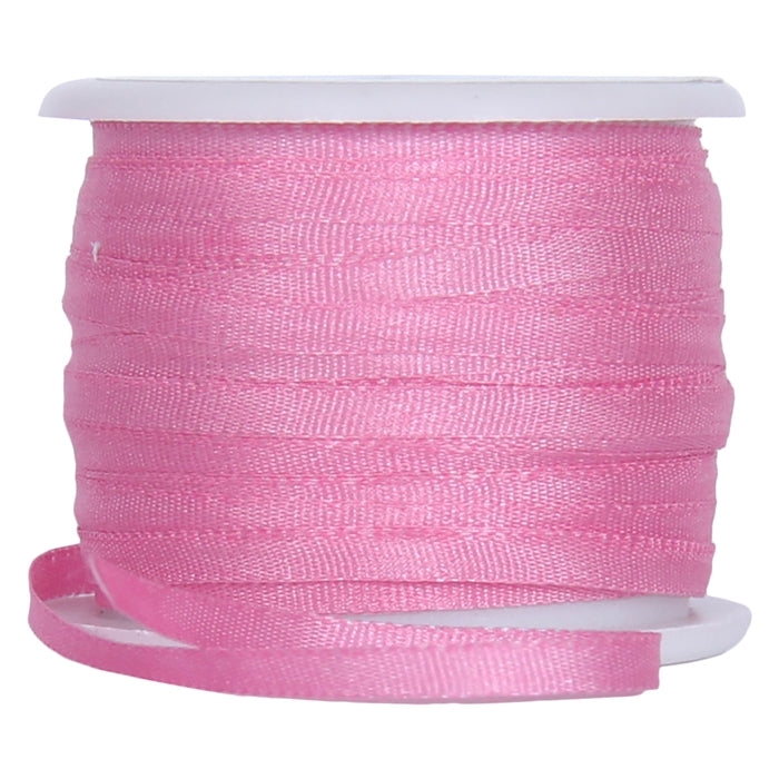 Silk Ribbon 2mm Dusty Rose x 10 Meters No. 565 - Threadart.com