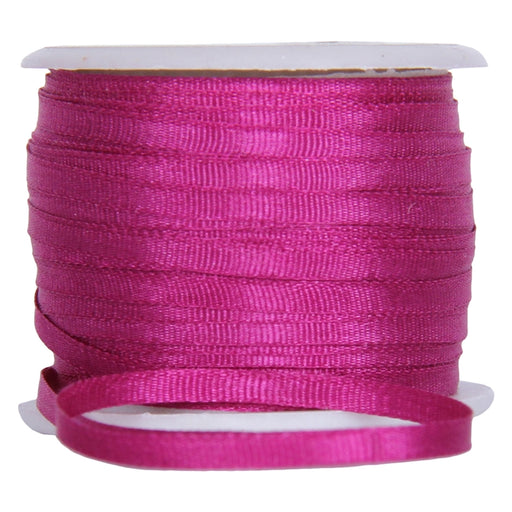 Silk Ribbon 2mm Mulberry x 10 Meters No. 568 - Threadart.com