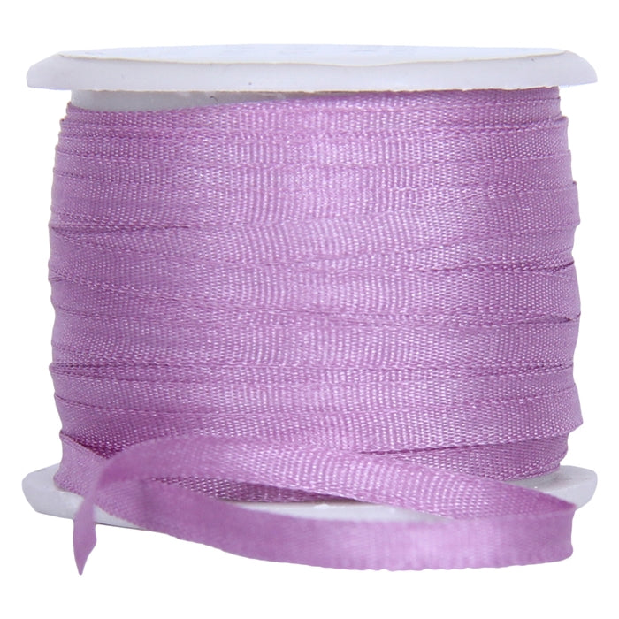 Silk Ribbon 2mm Lavender x 10 Meters No. 571 - Threadart.com