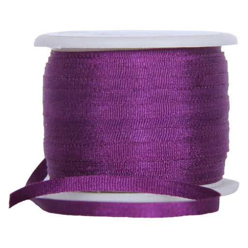 Silk Ribbon 2mm Purple Passion 10m-601 - Threadart.com
