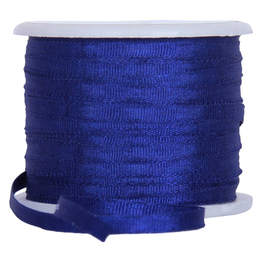 Silk Ribbon 2mm Sapphire Blue x 10 Meters No. 701 - Threadart.com