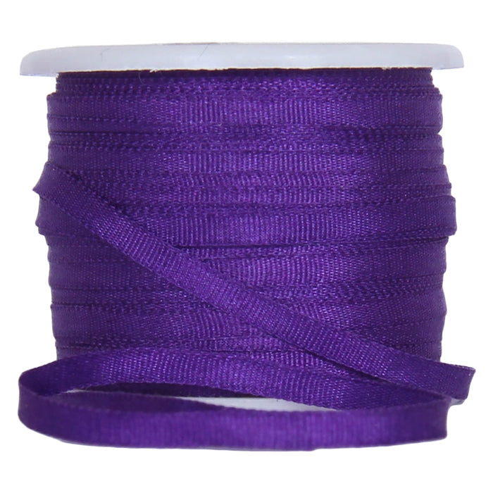 Silk Ribbon 2mm Purple x 10 Meters No. 703 - Threadart.com