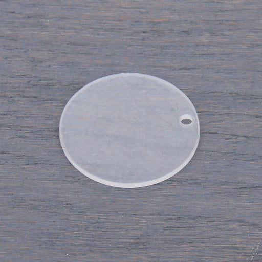 Acrylic Blank - Circle Tag - Threadart.com