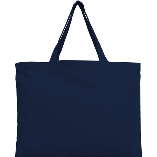 Canvas Tote - Navy - 100% Cotton - 12x16 - Threadart.com