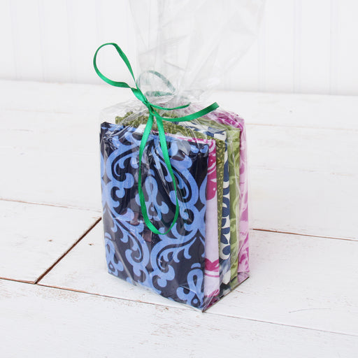 Six Fat Quarter Grab Bag - Cool Colors - Threadart.com