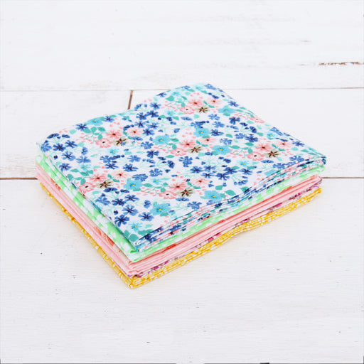 Six Fat Quarter Bundle - Pastel Print Colors - Threadart.com