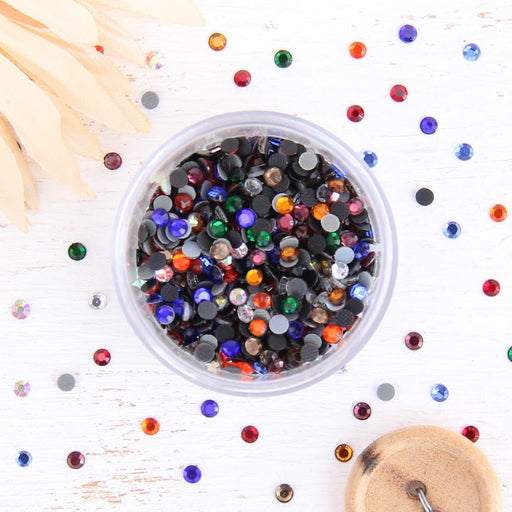Hot Fix Rhinestones - SS6 - Mixed - 1440 stones - Threadart.com