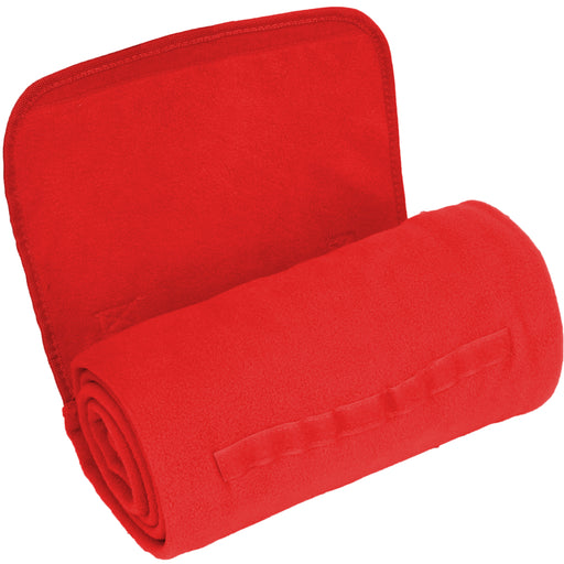Portable Sports Stadium Blanket with Carrying Strap - Red - Threadart.com