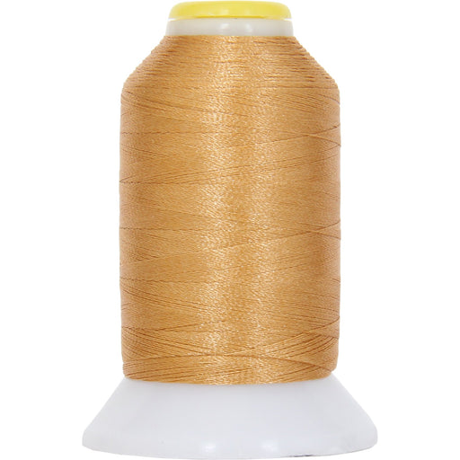 Micro Embroidery & Bobbin Thread 60 Wt No. 121 - Lt. Gold- 1000 Meters - Threadart.com
