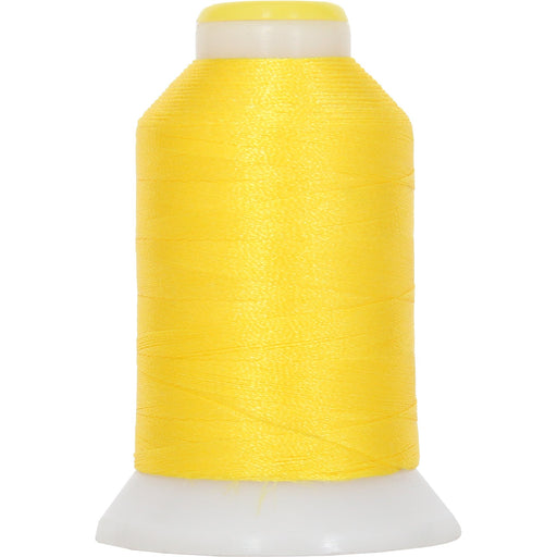 Micro Embroidery & Bobbin Thread 60 Wt No. 154 - Yellow- 1000 Meters - Threadart.com
