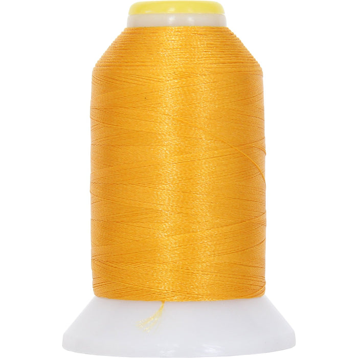 Micro Embroidery & Bobbin Thread 60 Wt No. 156 - Pollen Gold- 1000 Meters - Threadart.com