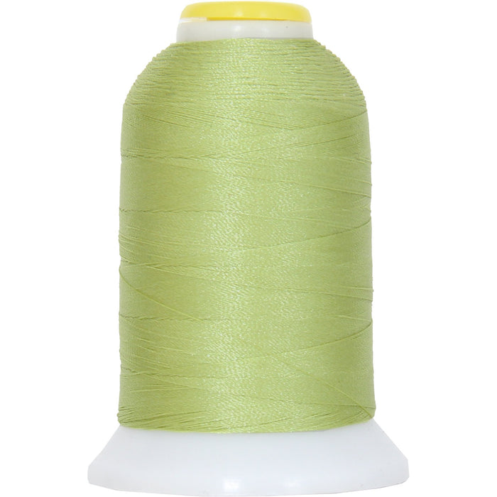 Micro Embroidery & Bobbin Thread 60 Wt No. 214 - Pastel Green- 1000 Meters - Threadart.com