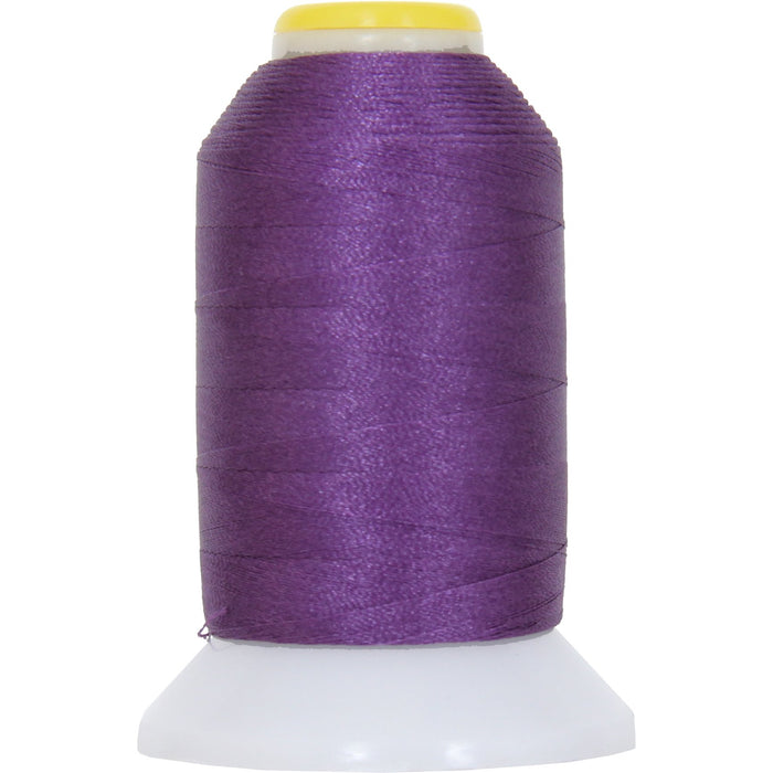 Micro Embroidery & Bobbin Thread 60 Wt No. 264 - Purple - 1000 Meters - Threadart.com