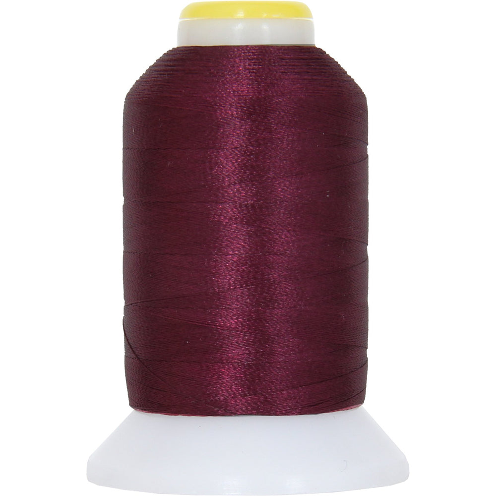 Micro Embroidery & Bobbin Thread 60 Wt No. 396 - Burgundy- 1000 Meters - Threadart.com