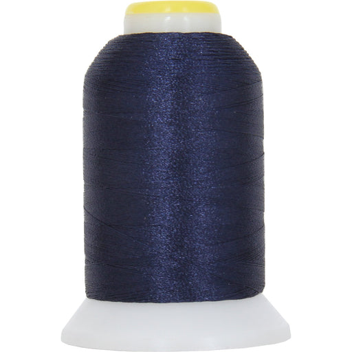 Micro Embroidery & Bobbin Thread 60 Wt No. 436 - Flag Navy- 1000 Meters - Threadart.com
