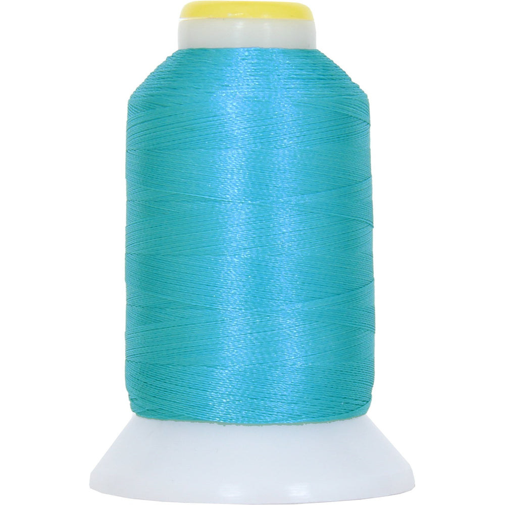 Micro Embroidery & Bobbin Thread 60 Wt No. 464 - Turquoise - 1000 Meters - Threadart.com