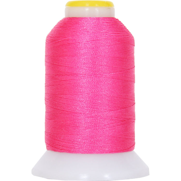 Micro Embroidery & Bobbin Thread 60 Wt No. 674 - Hot Pink- 1000 Meters - Threadart.com