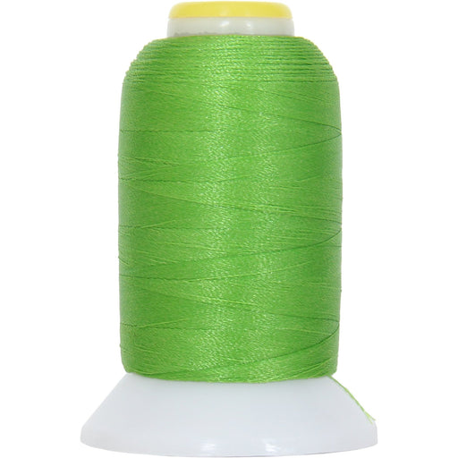 Micro Embroidery & Bobbin Thread 60 Wt No. 675 - Lime Green - 1000 Meters - Threadart.com