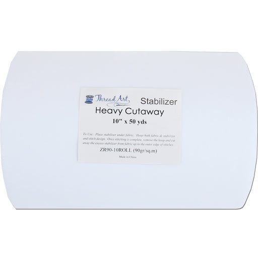 Heavy Cutaway Embroidery Backing Stabilizer - 10 inch 50 yd roll - Threadart.com