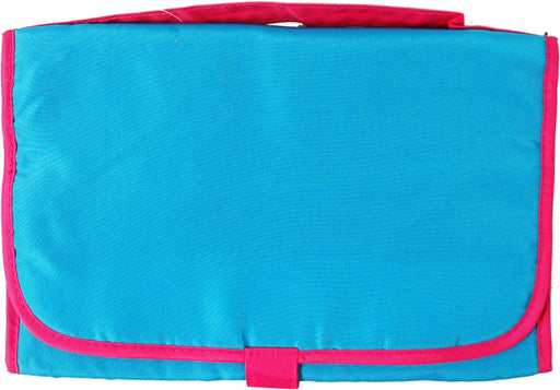 Tri-Fold Organizer - Aqua/Hot Pink - Threadart.com