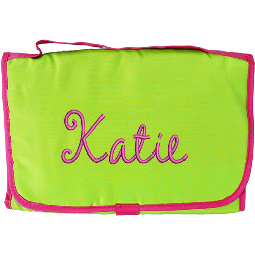 Tri-Fold Organizer - Lime Green/Hot Pink - Threadart.com