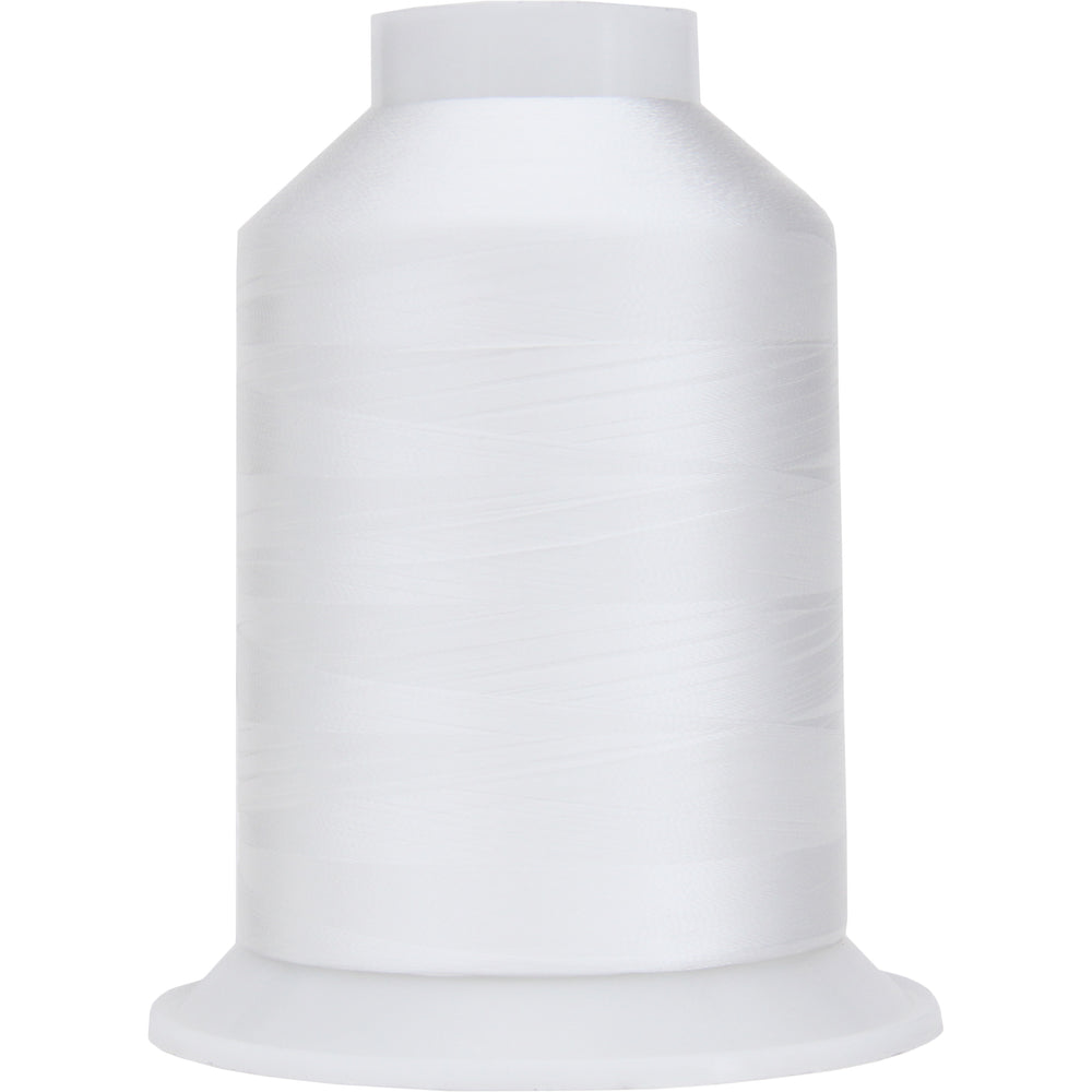 Bobbin Thread - 60wt White - 5000 Meters - Threadart.com