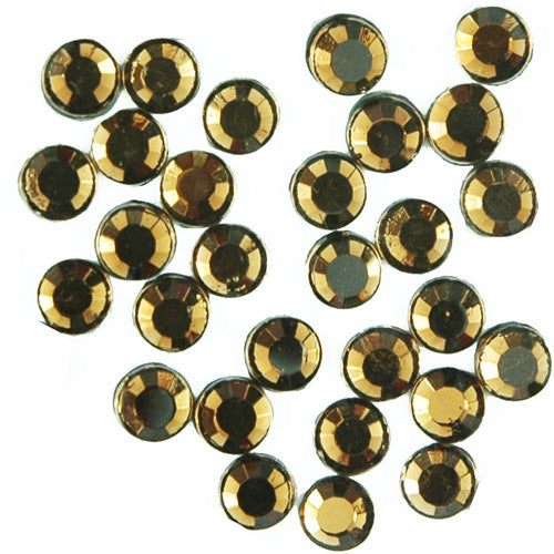 Hot Fix Rhinestones - SS10 - Brown - 1440 stones - Threadart.com