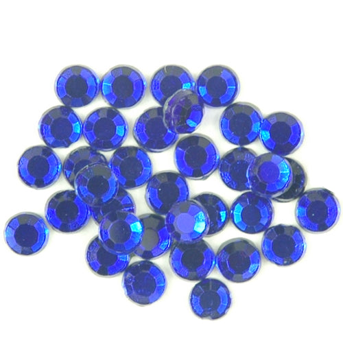 Hot Fix Rhinestones - SS30 - Cobalt - 144 stones - Threadart.com