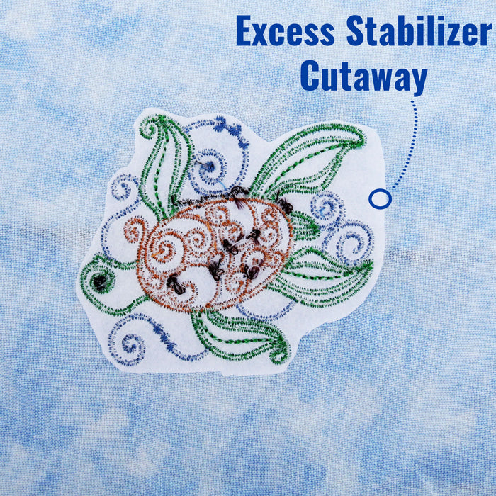 Regular Cutaway Embroidery Backing Stabilizer - 12 inch 50 yd roll - Threadart.com
