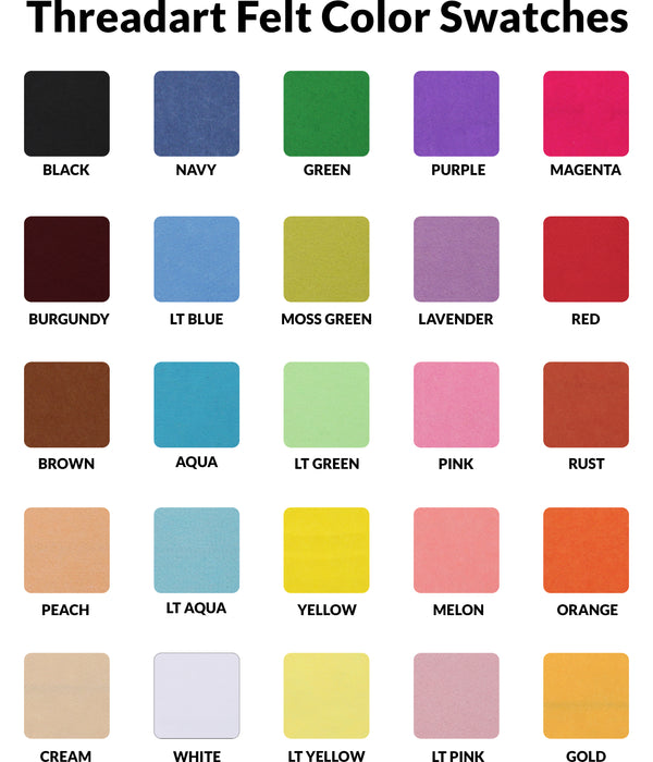 "Magenta Felt 12"" x 10 Yard Roll - Soft Premium Felt Fabric - Threadart.com"