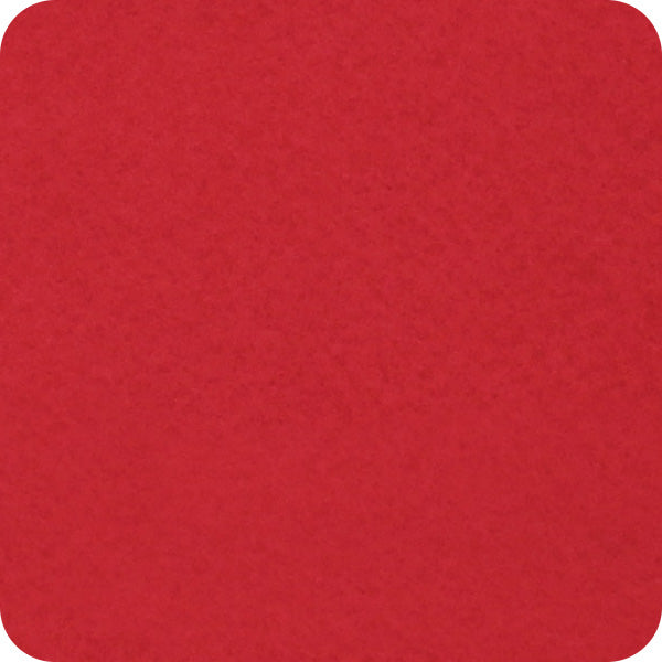"Red Felt 12"" x 10 Yard Roll - Soft Premium Felt Fabric - Threadart.com"