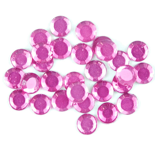 Hot Fix Rhinestones-ss16-Fuchsia - 720 stones - Threadart.com