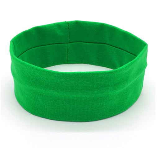 Sports Head Band - Green - Threadart.com