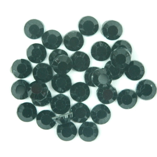 Hot Fix Rhinestones - SS30 - Jet - 144 stones - Threadart.com