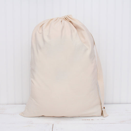 "Laundry Bag Duffle Bag Jumbo 25""X35"" Drawstring 100% Sturdy Cotton Canvas with Strap - Threadart.com"