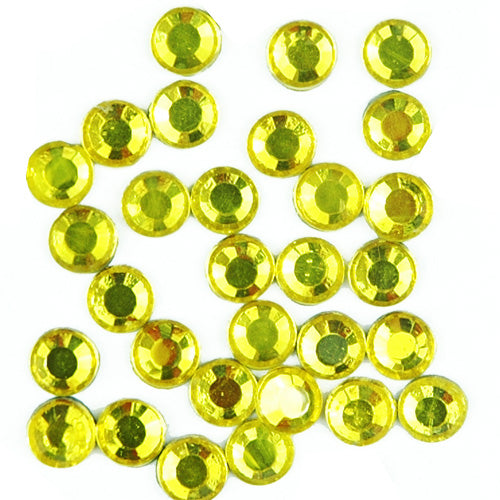 Hot Fix Rhinestones - SS10 - Lemon - 1440 stones - Threadart.com