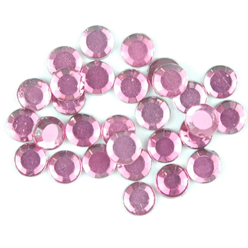 Hot Fix Rhinestones - SS10 - Fuchsia - 1440 stones - Threadart.com
