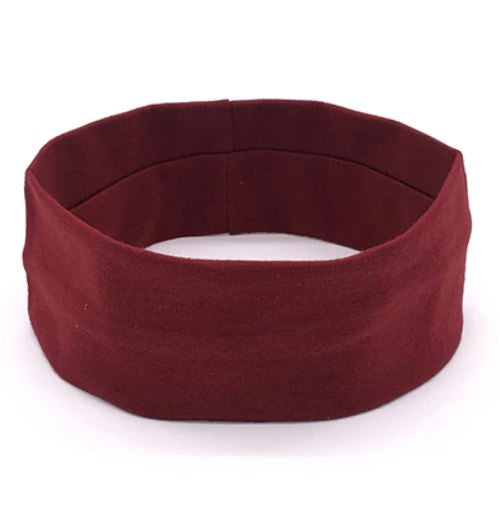 Sports Head Band - Maroon - Threadart.com