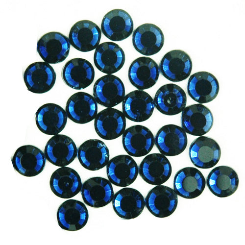 Hot Fix Rhinestones - SS30 - Montana - 144 stones - Threadart.com