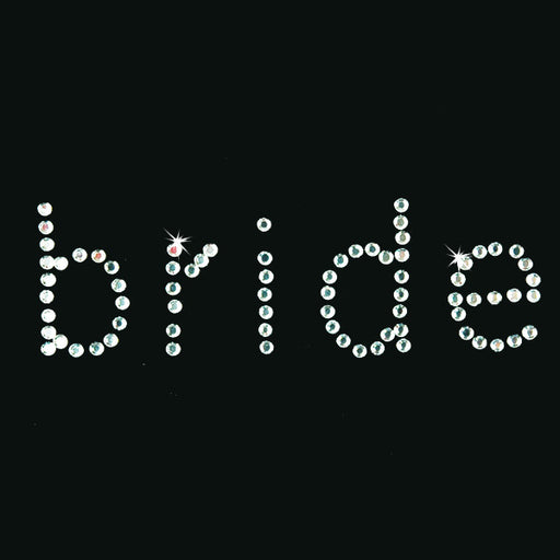 Hot Fix Heat Transfer Rhinestone Motif Bride - Bebe - Threadart.com