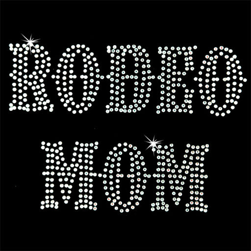 Hot Fix Motif Rodeo Mom 2 - Threadart.com