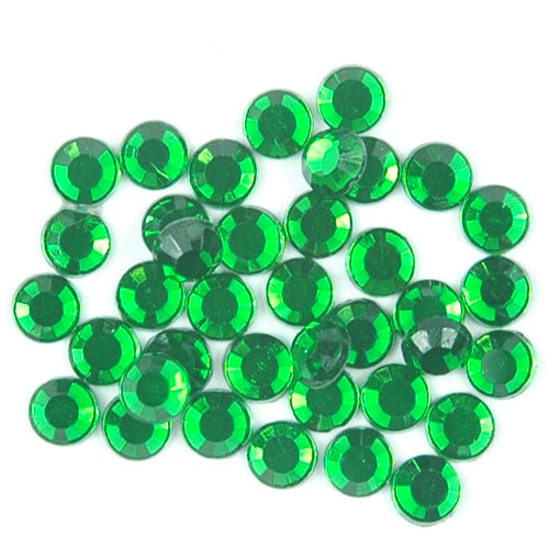 Hot Fix Rhinestones - SS30 - Olivine - 144 stones - Threadart.com
