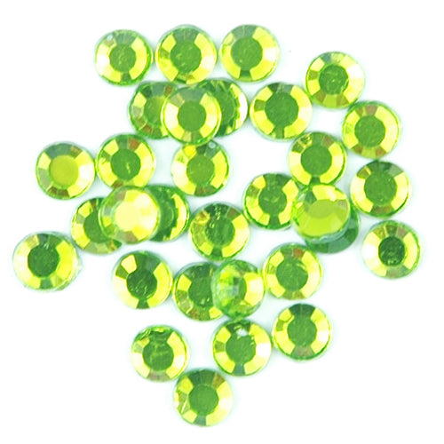 Hot Fix Rhinestones - SS10 - Peridot - 1440 stones - Threadart.com