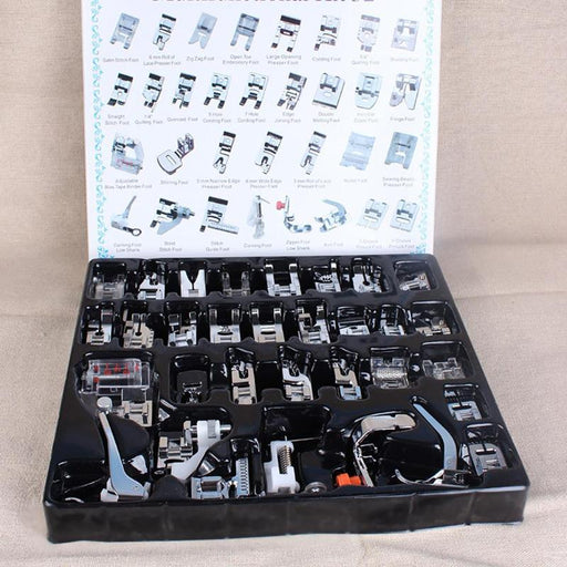 Collection of Presser Feet, 32 Unique Pcs. - Threadart.com